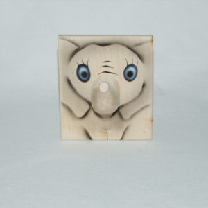 Brillen & Stiftehalter Elefant