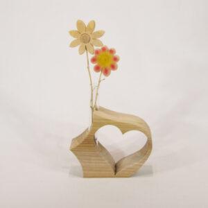 Vase mit einen Herz