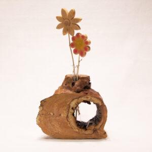 Vase Baumstumpf